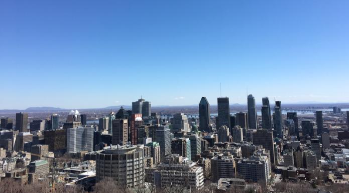 早春四月Montreal游记