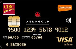 CIBC Aerogold Visa Infinite – CIBC Aeroplan联名卡
